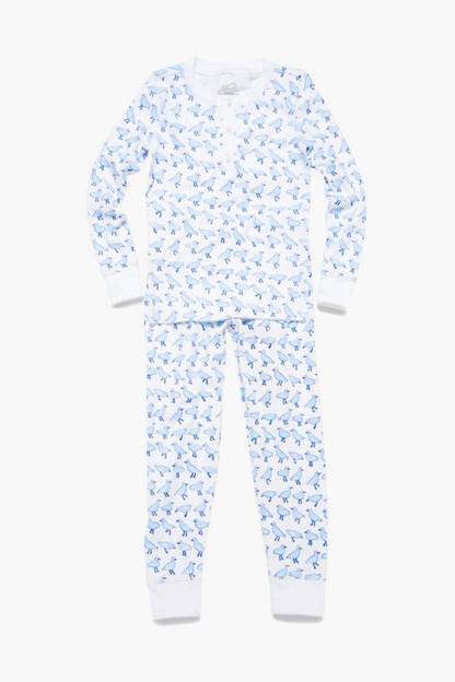 blue kids jonathan pajama set
