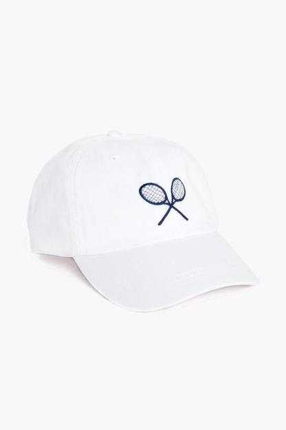 Embroidered Tennis Hat This item ships directly from the vendor within 2 business days.