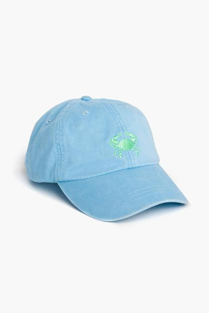 embroidered crab hat