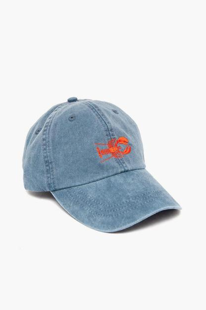 Midnight Embroidered Lobster Hat This item ships directly from the vendor within 2 business days.