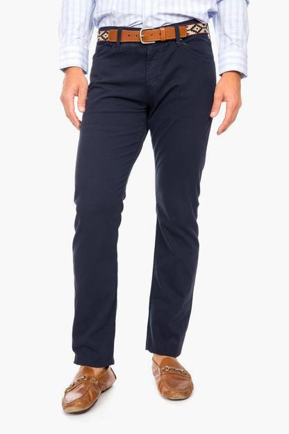 the graduate pants in sulfur blue ridge
