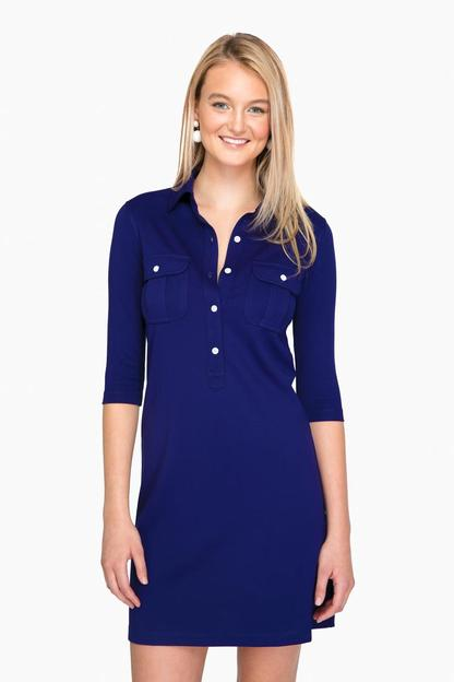 admiral blue winpenny dress