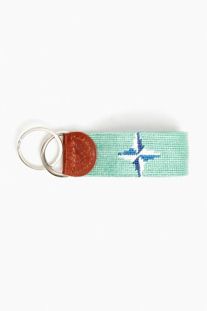exclusive tuckernuck needlepoint key fob