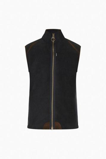 barbour navy langdale gilet