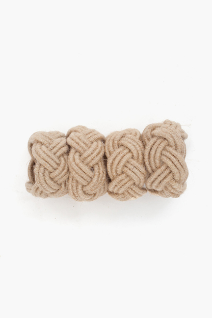 rope napkin rings (set of 4)