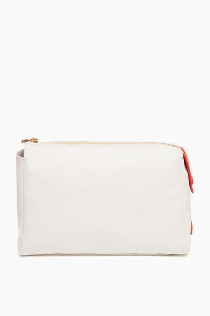no. 31 scarlet medium pouch