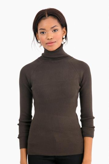 army sonia ribbed turtleneck