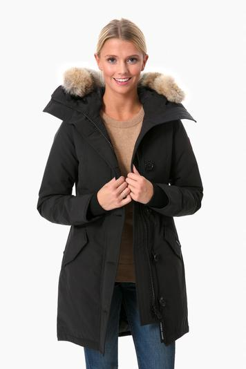 black rossclair parka