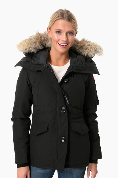black montebello parka