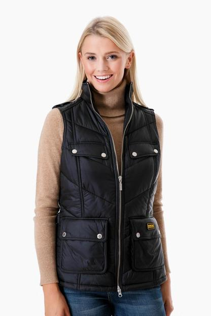 barbour international portree gilet