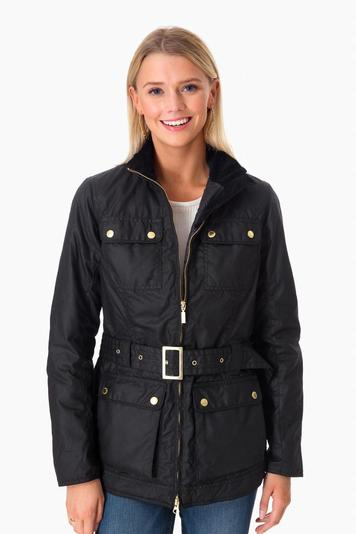 barbour international heyford wax jacket