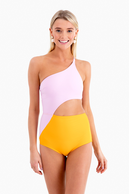 ali one shoulder one piece