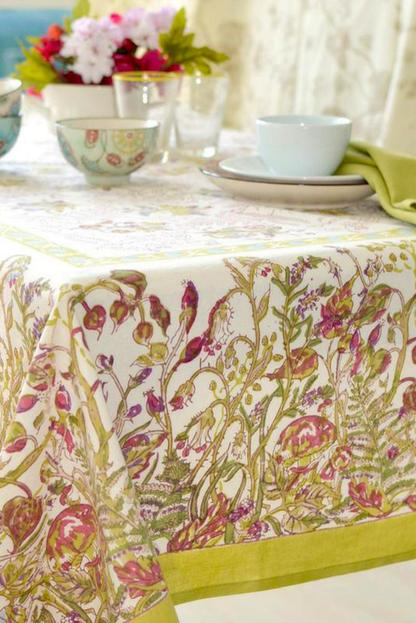 petite fleur french rectangle tablecloth