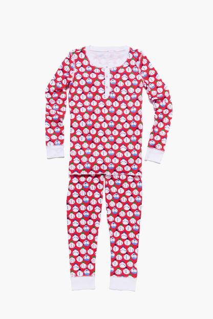 kids pajama set snow global