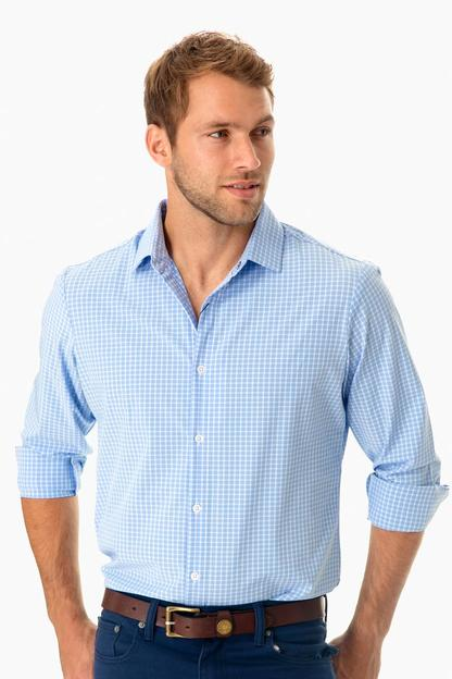 blue carter shirt