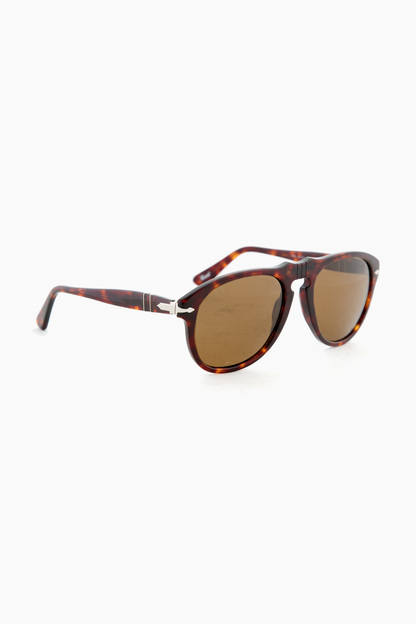 tortoise/brown classic series persol sunglasses