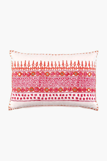 primrose decorative pillow (12x18)