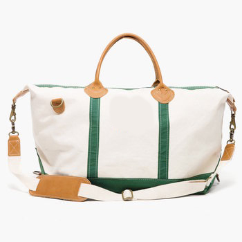 hunter green monogrammed sunshine satchel