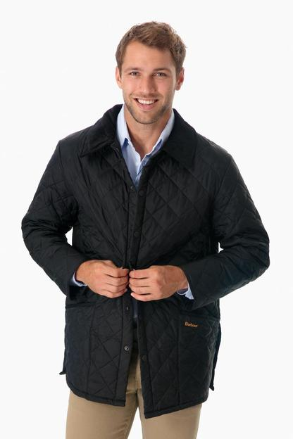 black quilted liddesdale jacket
