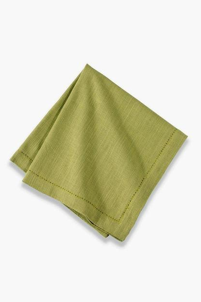 Kiwi Hemstitch Napkin (Set of 6)