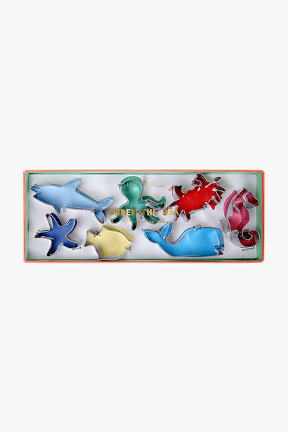 under the sea cutters (set of 7)