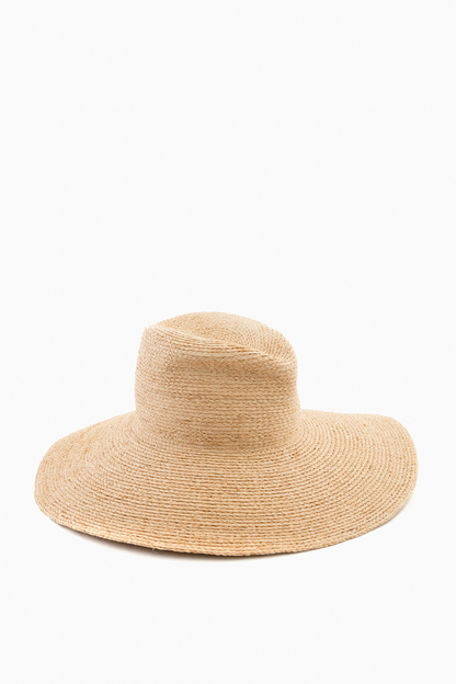 natural rolling tobacco sun hat
