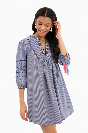 simi embroidered dress