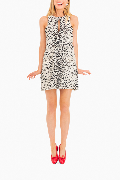 cut out mod dress