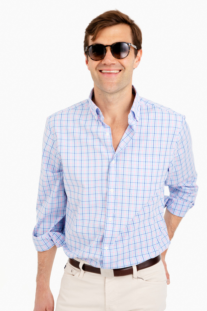 Sir Christie Check Classic Murray Button Down