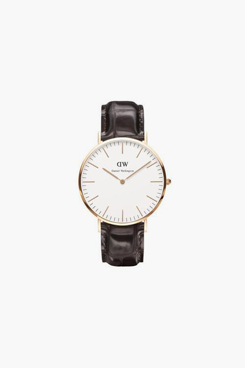 ladies classic york rose gold watch